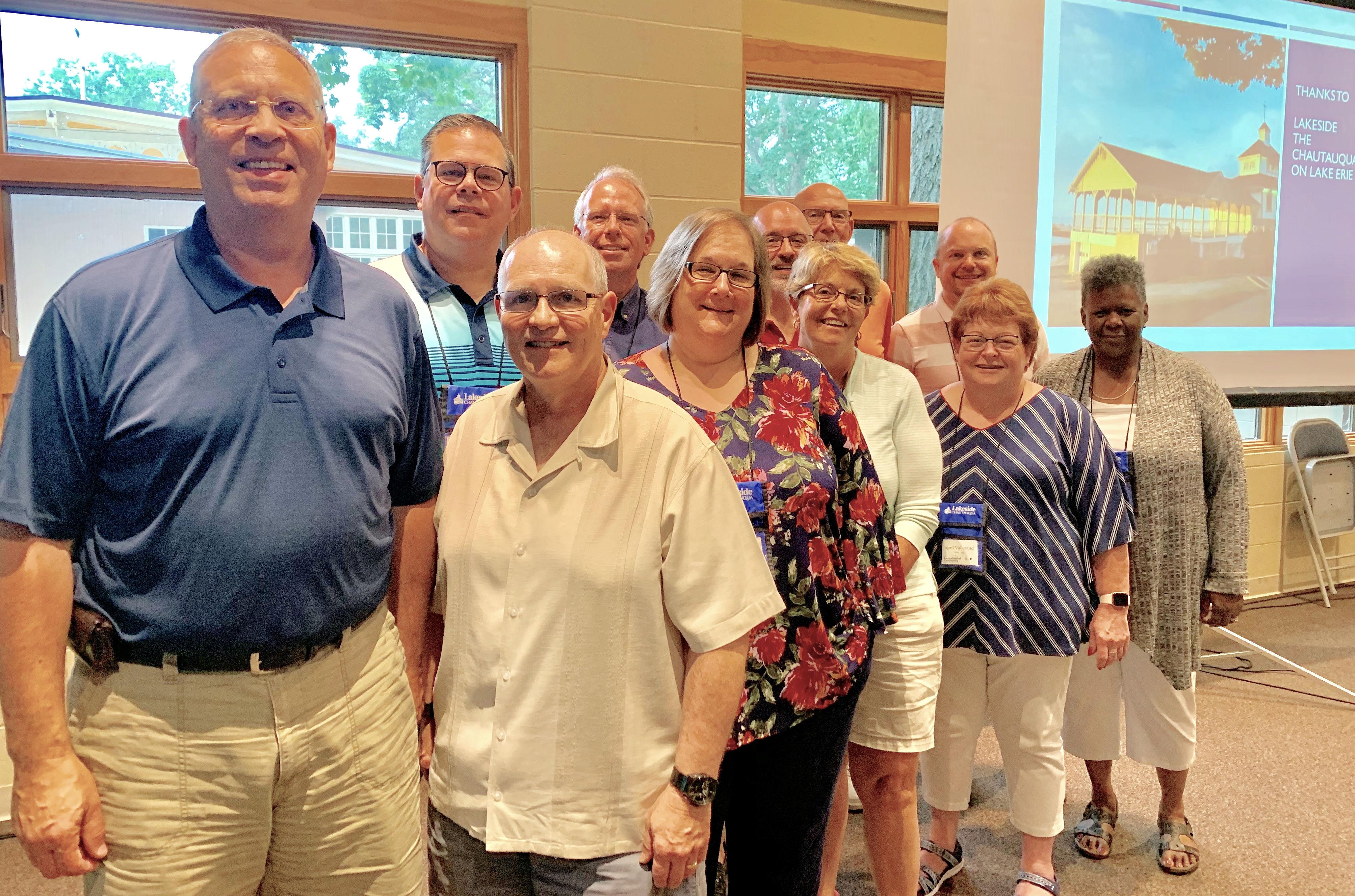 Michigan participants in Stewardship Conference