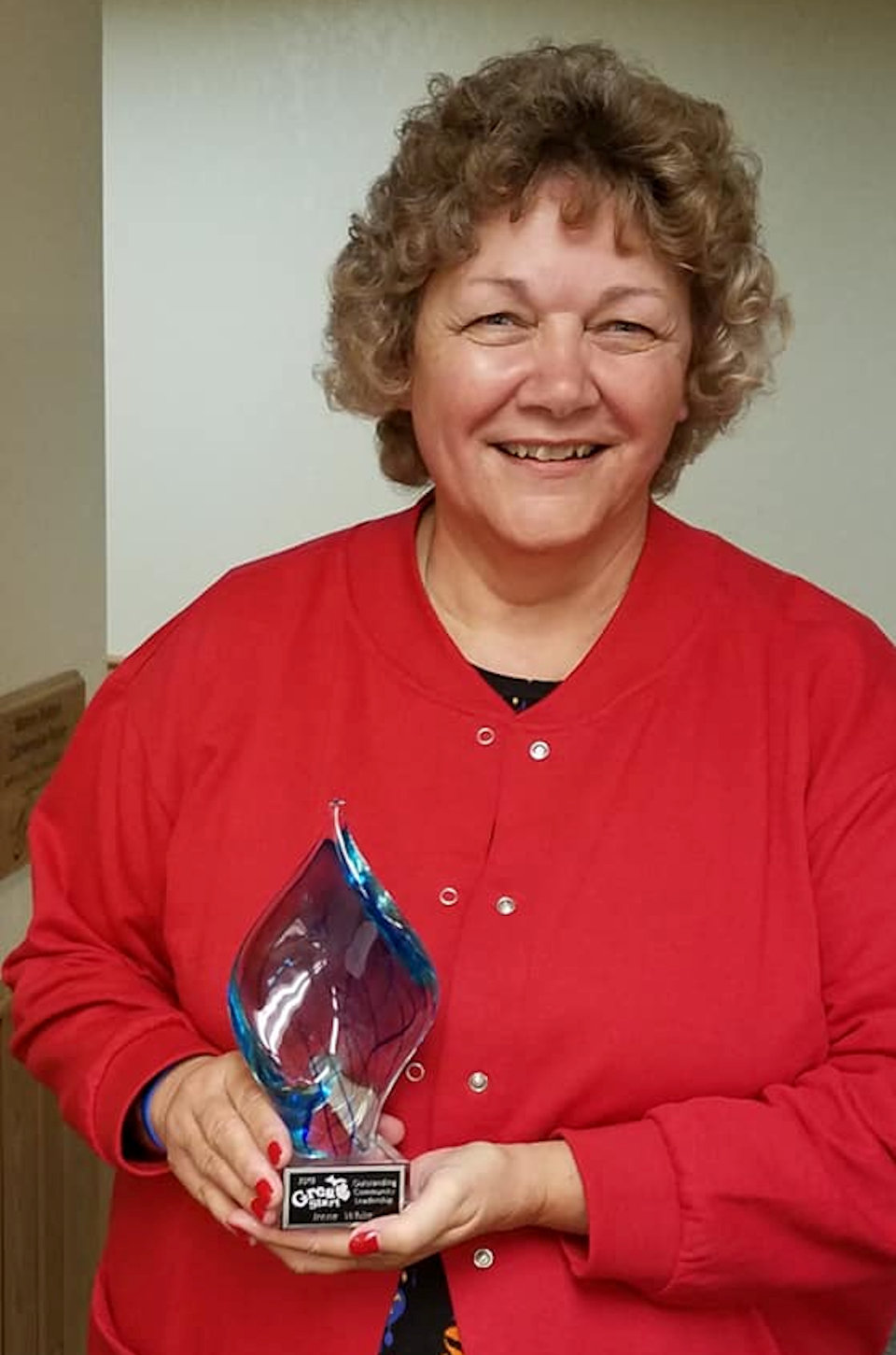 Pastor honored with community award