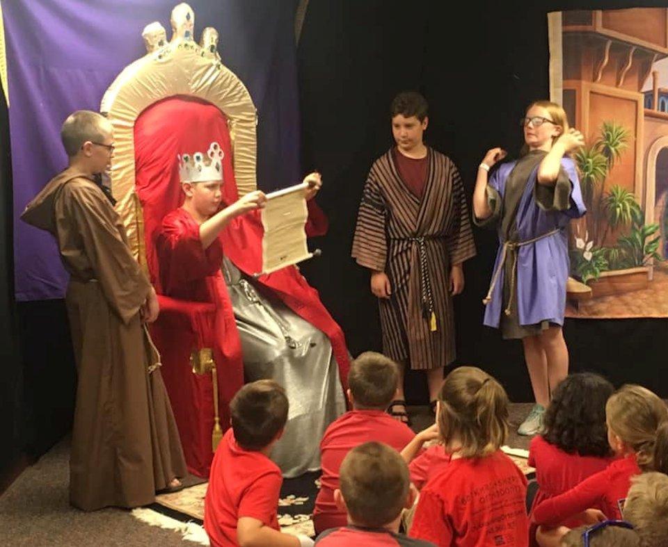 Vacation Bible School retells Daniel in Lion's Den