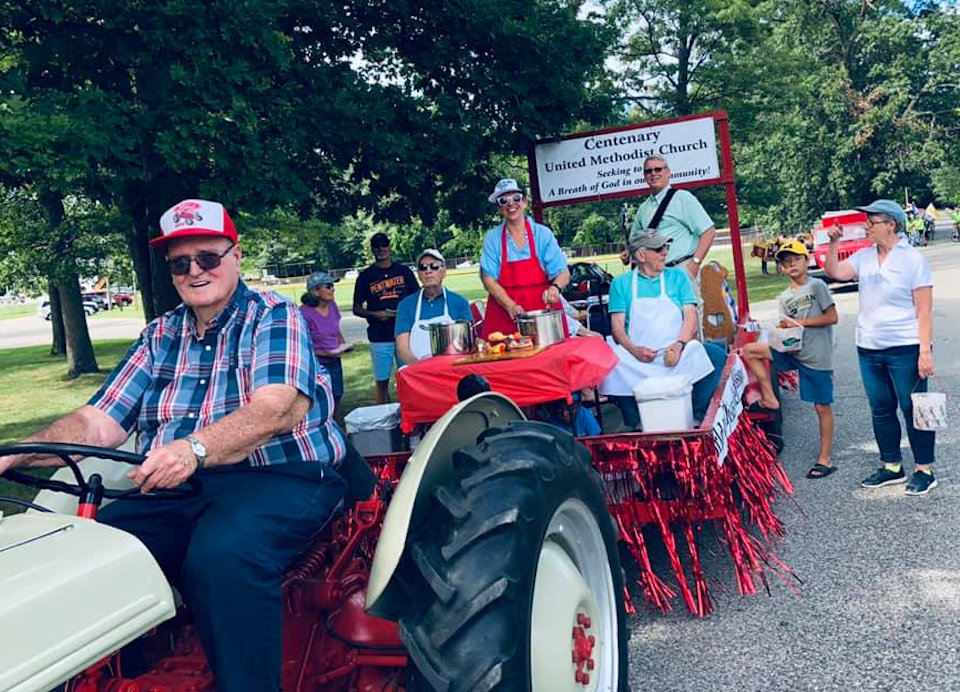 Parade FLoat in Pentwater