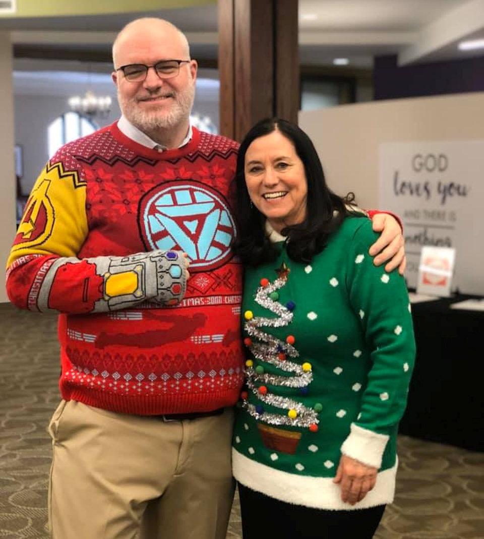 Pastors in sweaters