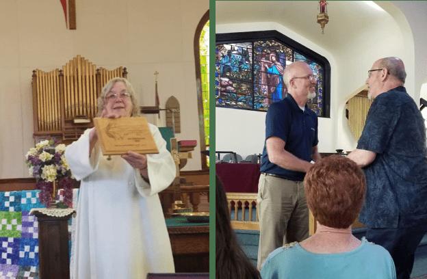 Retirement celebrations for pastors in the U.P.