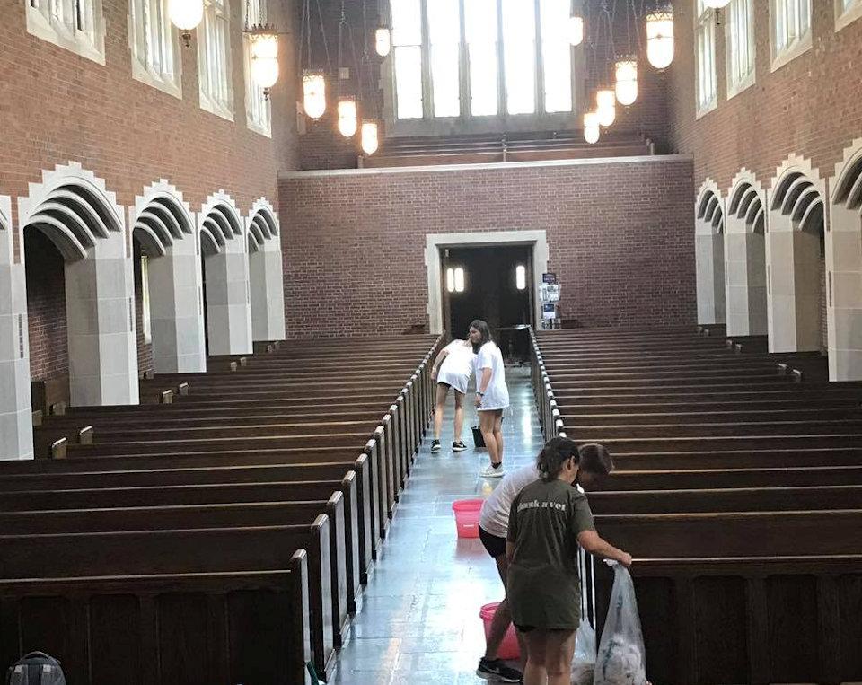 youth leaning chapel at Scarritt-Bennett Center