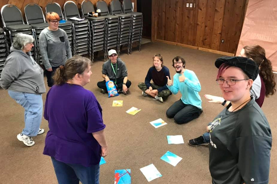 Staff training at Wesley Woods Camp