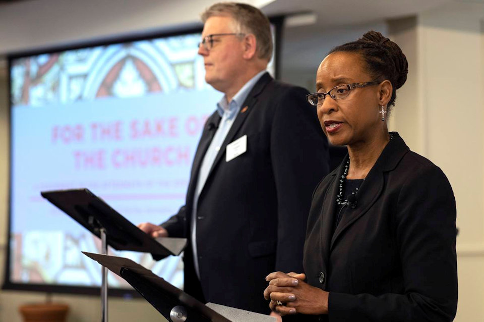 Kennetha Bigham-Tsai leads the Connectional Table that proposes a regional conference structure for the US