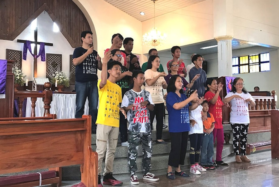 United Methodist Choir in the Philippines