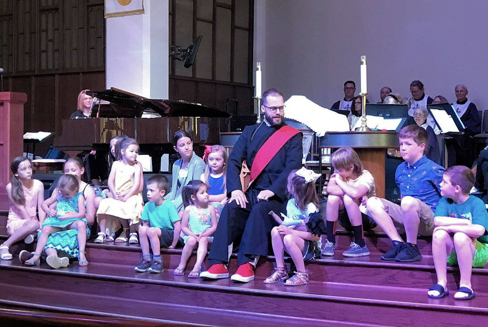 Children's Moment at Royal Oak First UMC