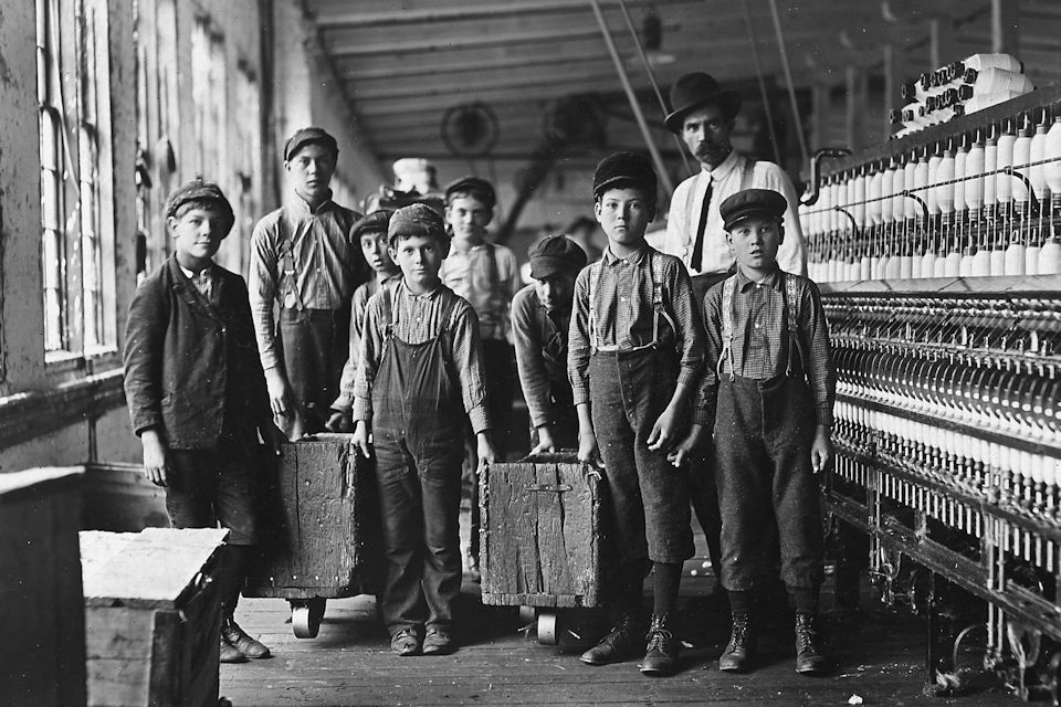 Labor Day began as America industrialized using the labor of children as young as four years old.