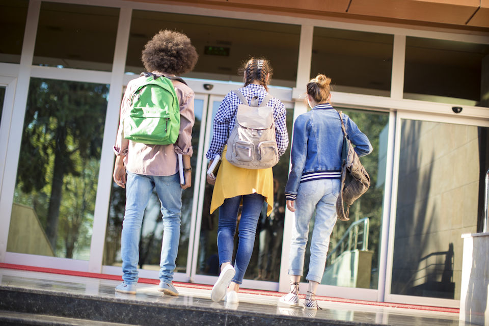College students return to campus. Reach them outside the box.