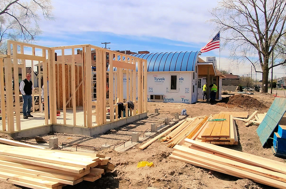 Six more tiny homes being built in Detroit