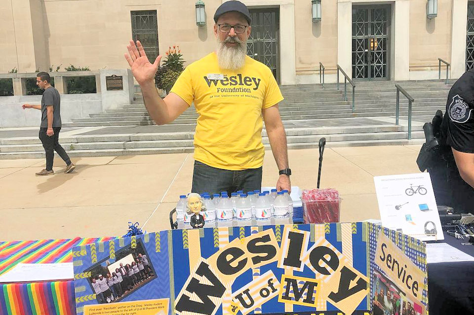 Wesley directors are welcoming students to campus ministries