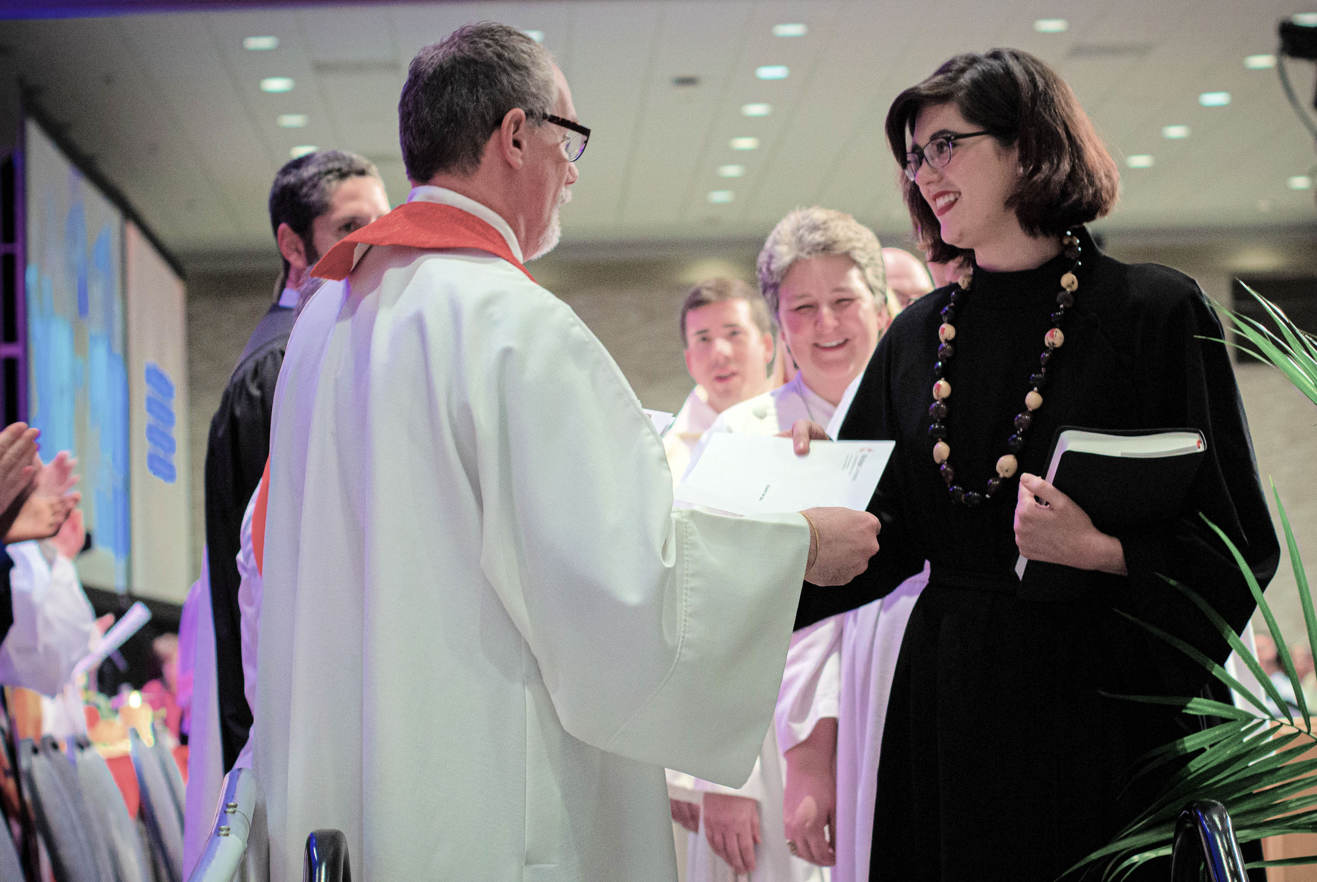June 2, 2019 was a time to celebrate newly commissioned clergy.