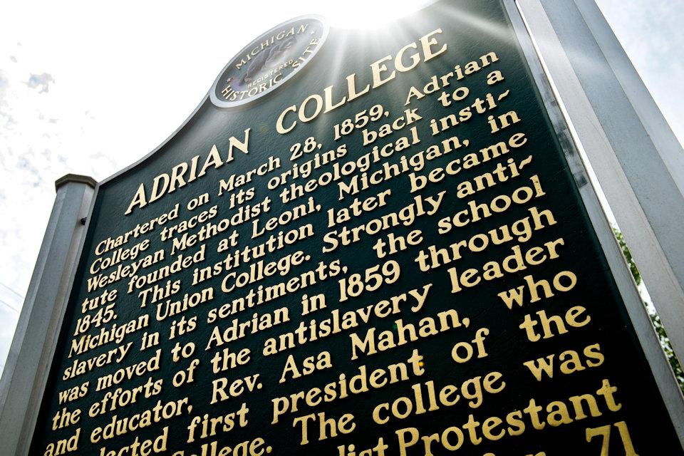 UM schools in Michigan include Adrian College