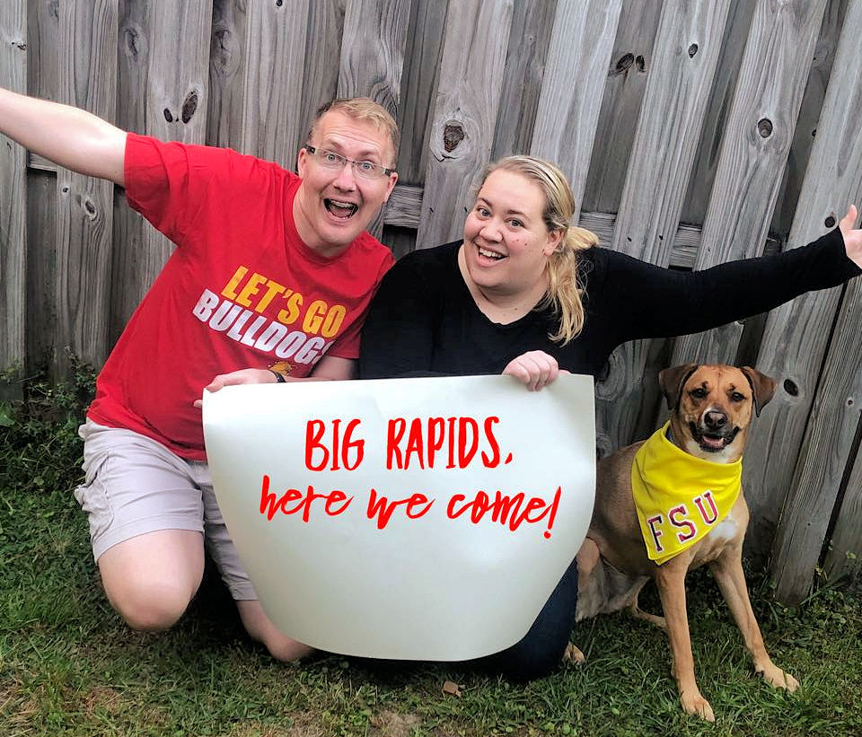 Wil and Kim Bos move to Big Rapids