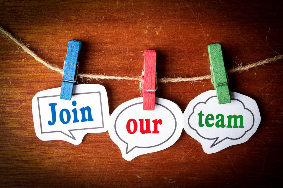 Job openings. Join our team