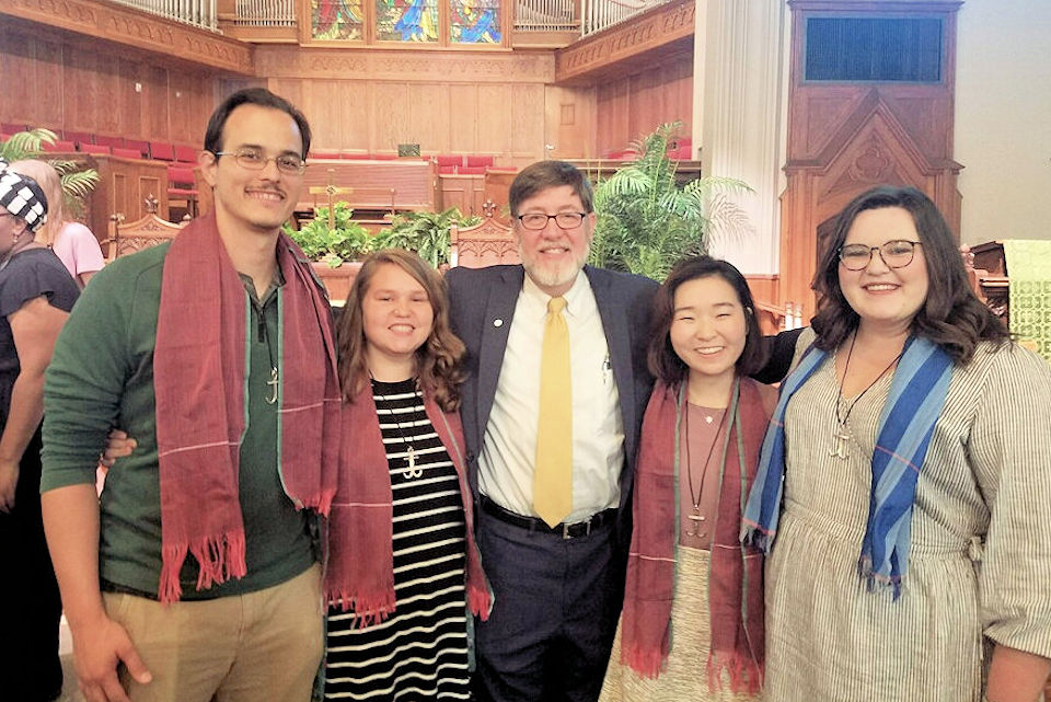 Four Global Mission Fellows headed for Michigan