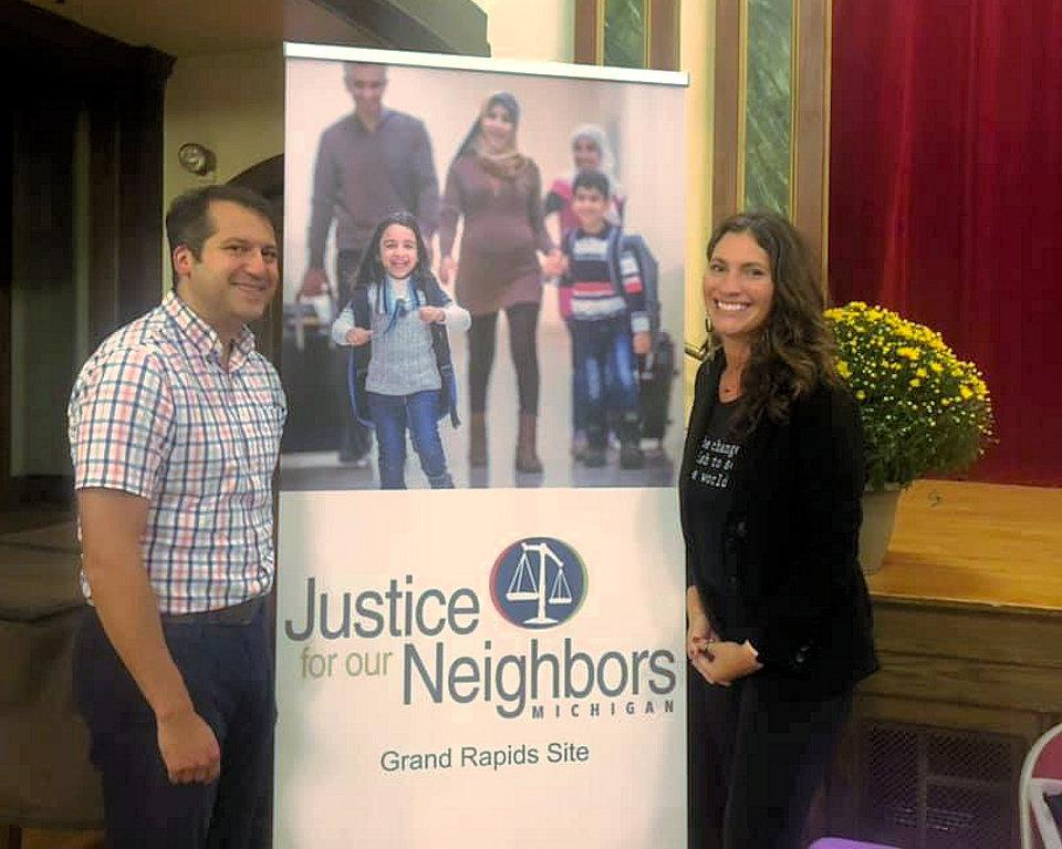 Paul Perez at Grand Rapids JFON event