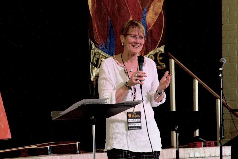Dr. Kim Reisman leads Embrace.