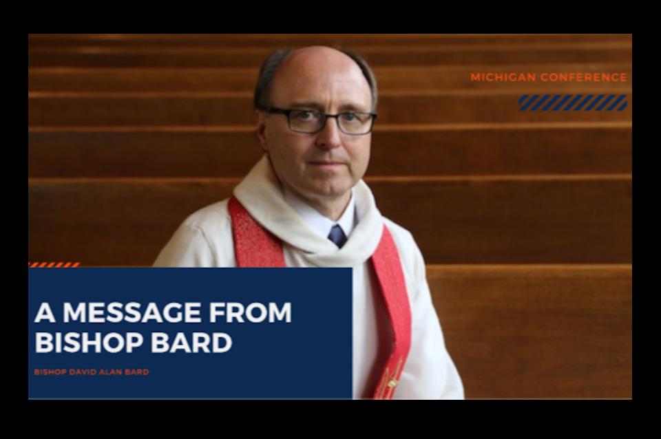 Bishop makes Superintendent announcement