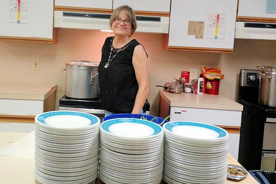 Centenary kitchen fills plates with generosity