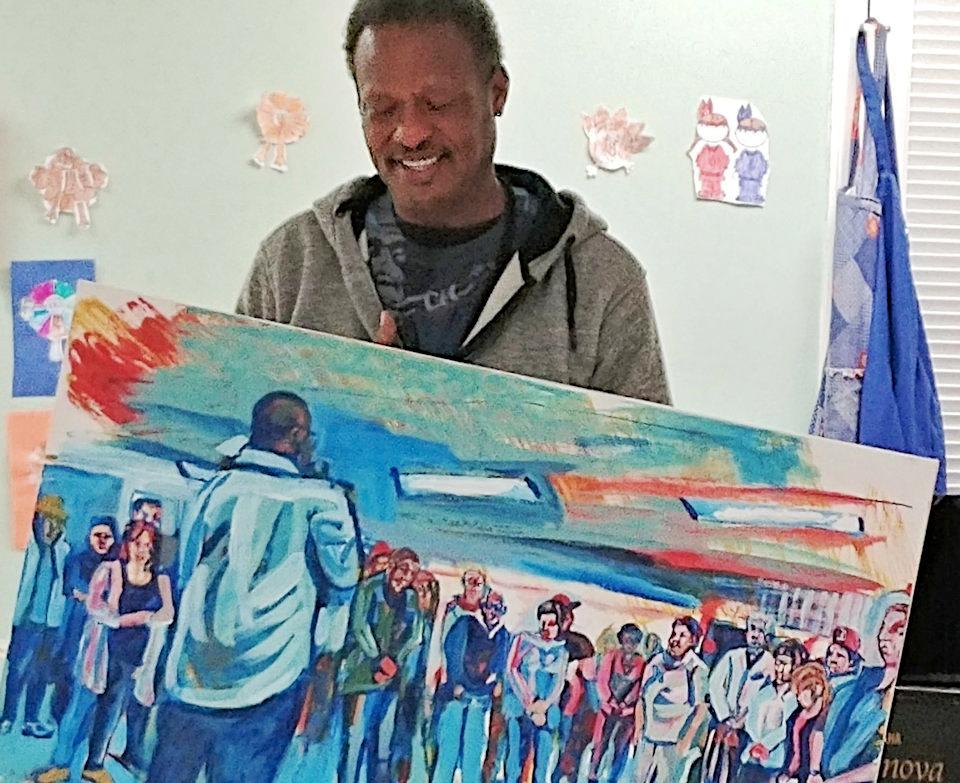 Second Midtown Detroit Service artist