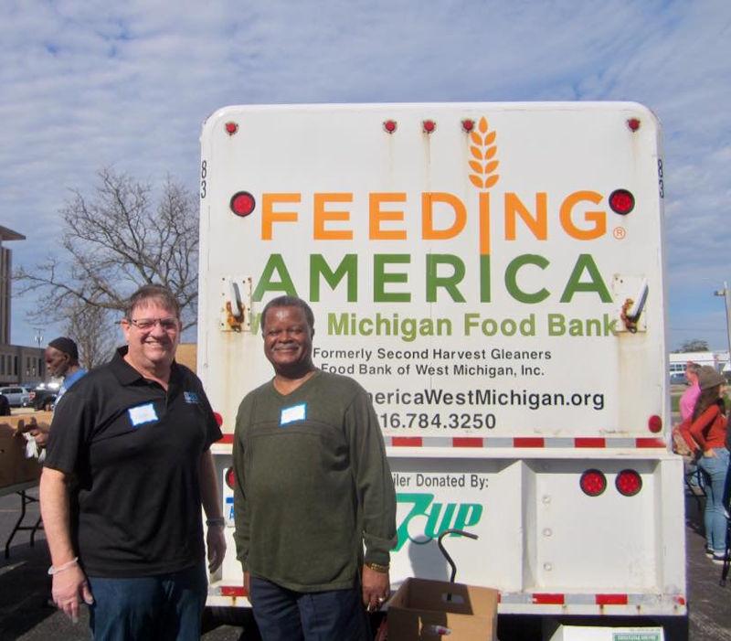 Feeding America Food trucks