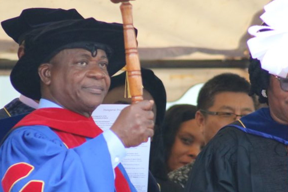 New leader of Liberia University
