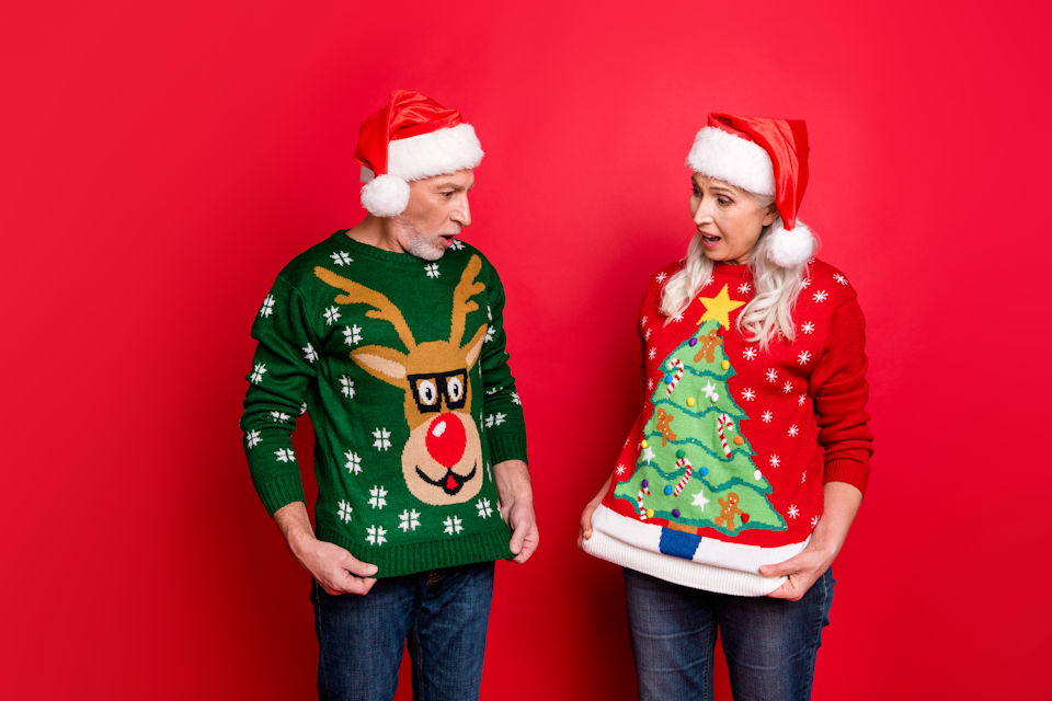 Tension over ugly sweaters
