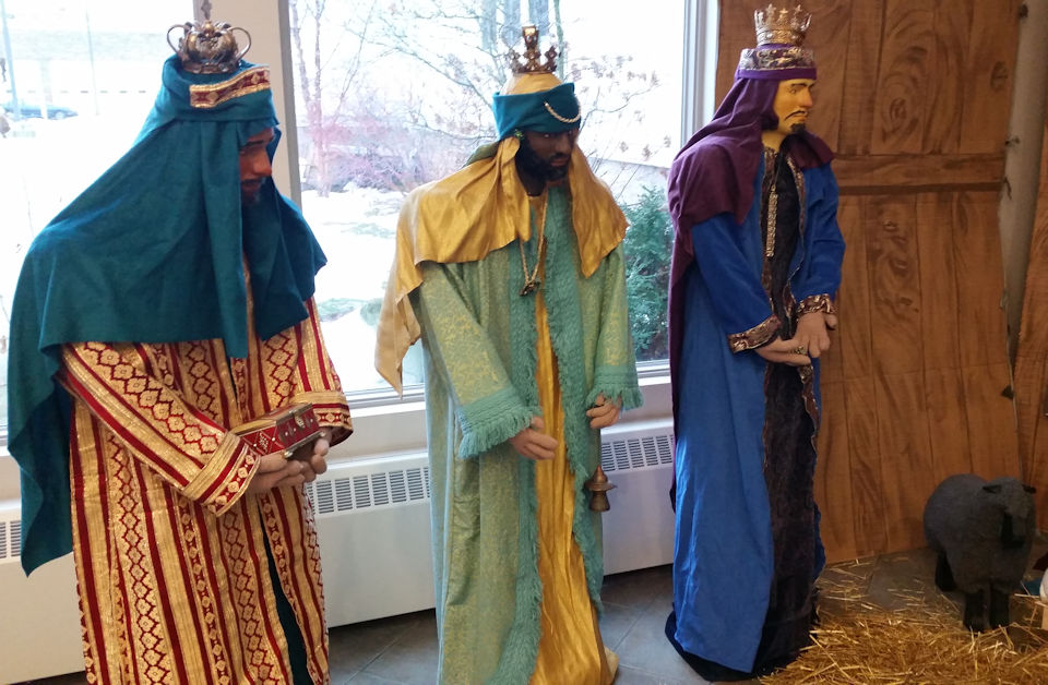 Wise Men break in to Vicksburg UMC