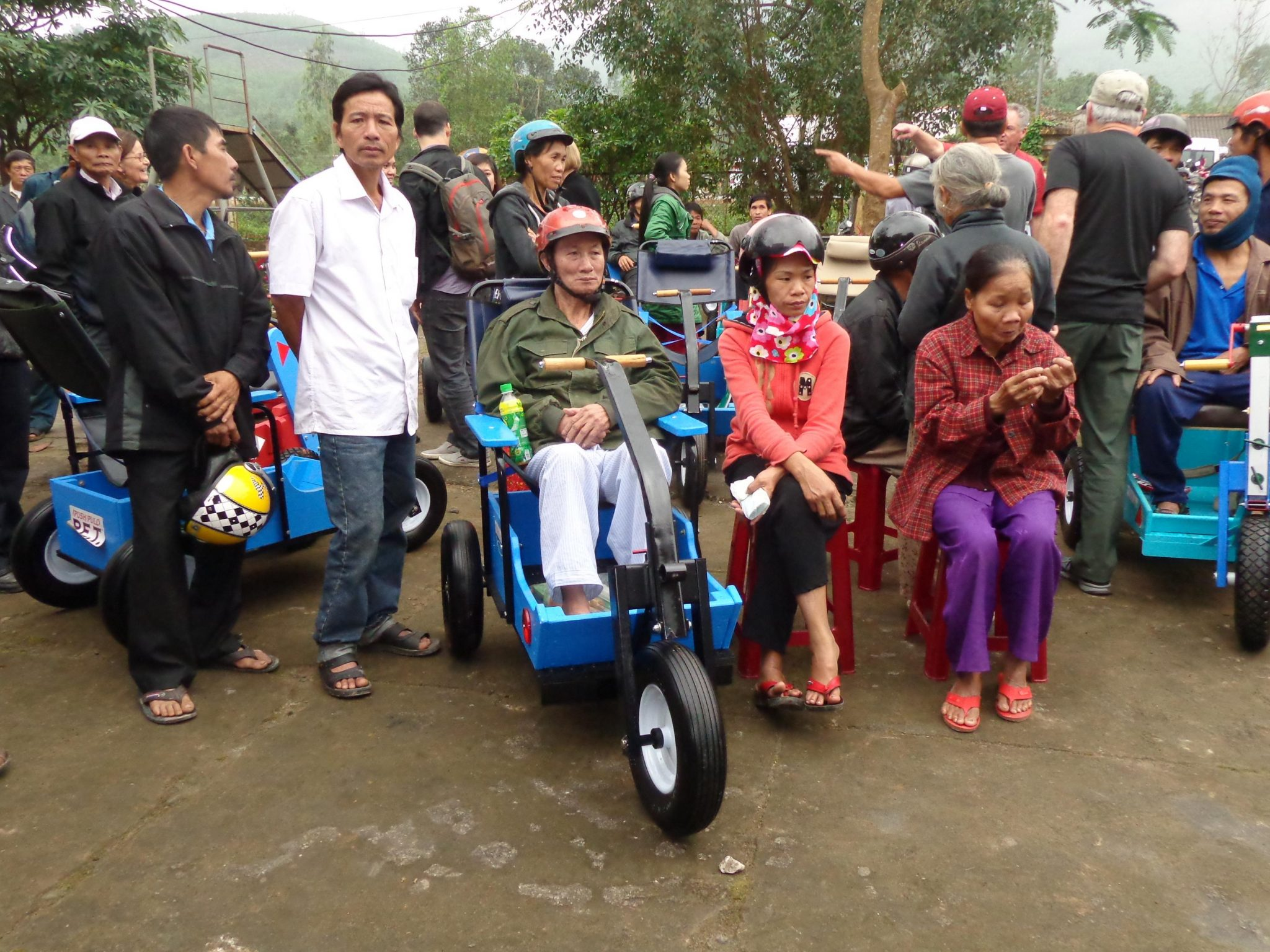 Mobilizing people in Vietnam brings joy