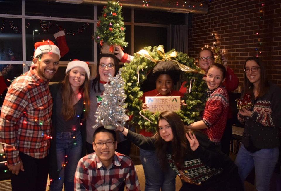 GMFs enjoy Christmas
