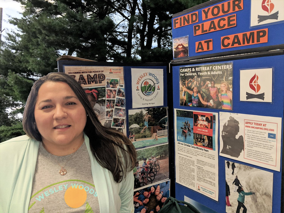 Nicole is director at Wesley Woods, one of Michigan's three camps