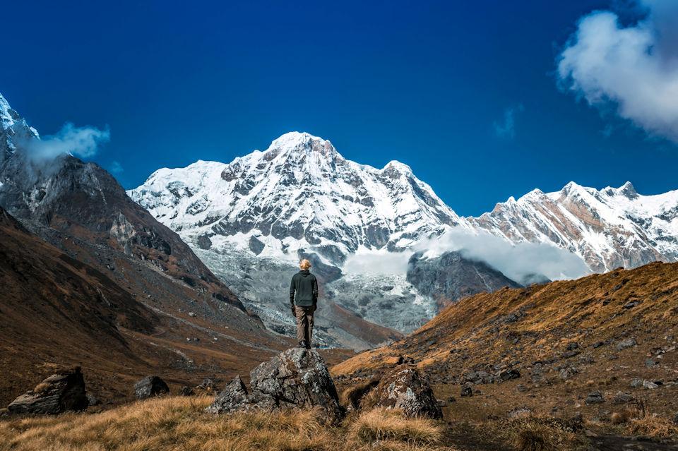 A wanderer in Nepal