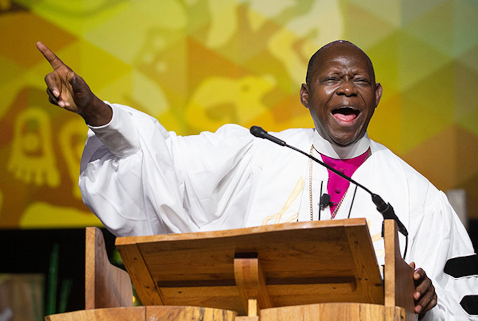 Bishop Yambasu at GC 2016
