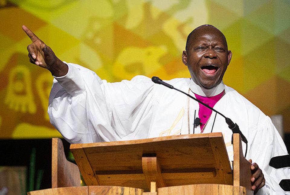 Bishop Yambasu at GC 2016