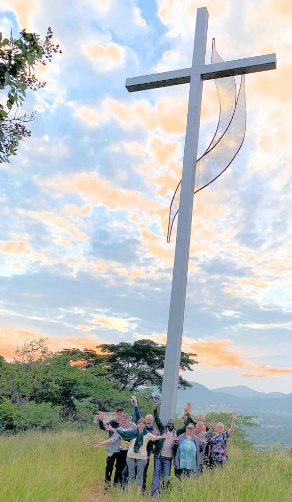 Cross on the mountain in Zimbabwe
