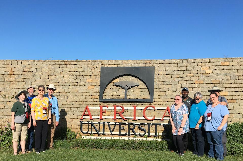 AU in Zimbabwe welcomes Michigan travelers