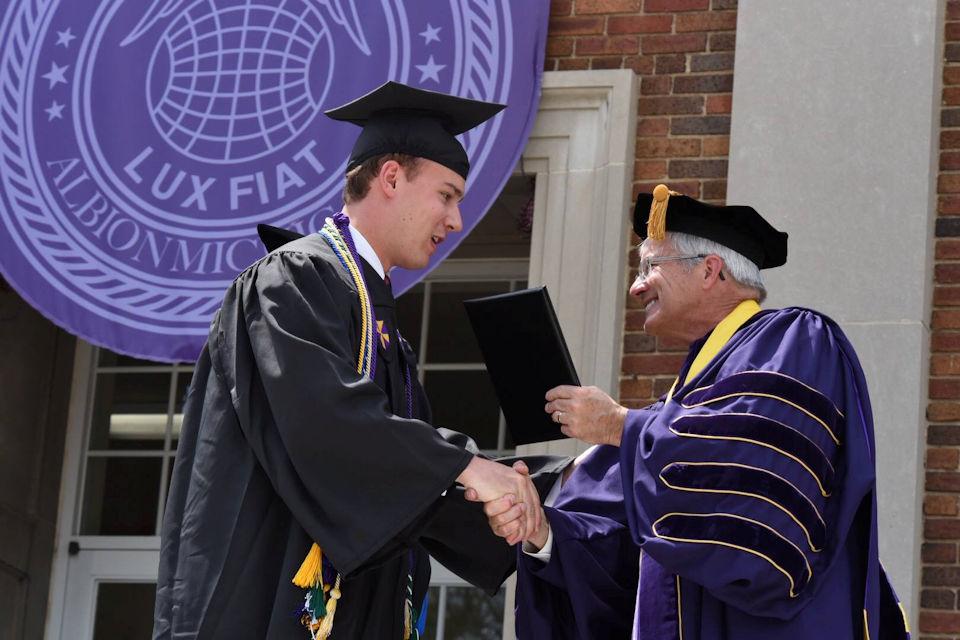 Albion Graduation 2016