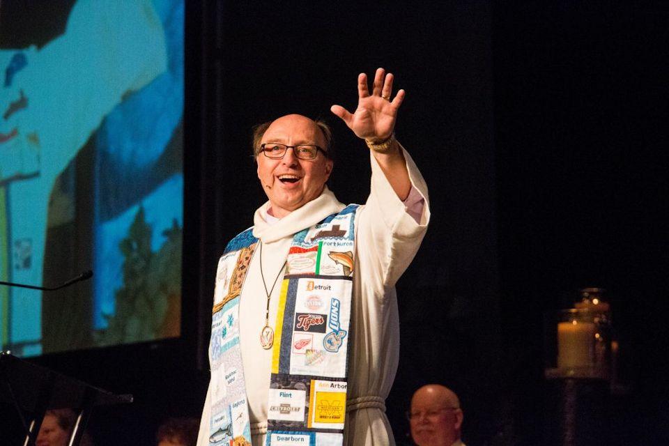 Bishop David Bard welcome to AC 2020