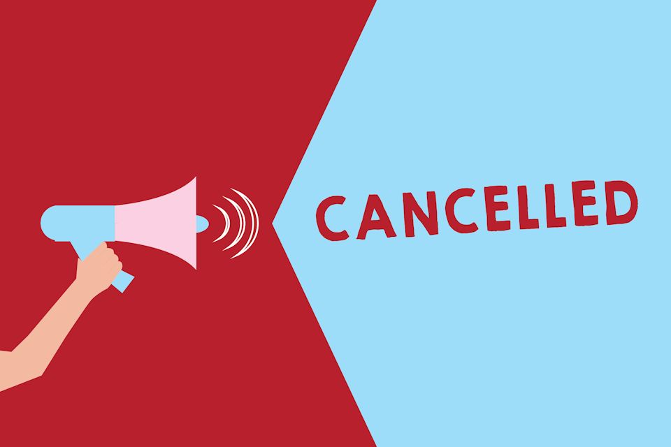 Meetings canceled and postponed