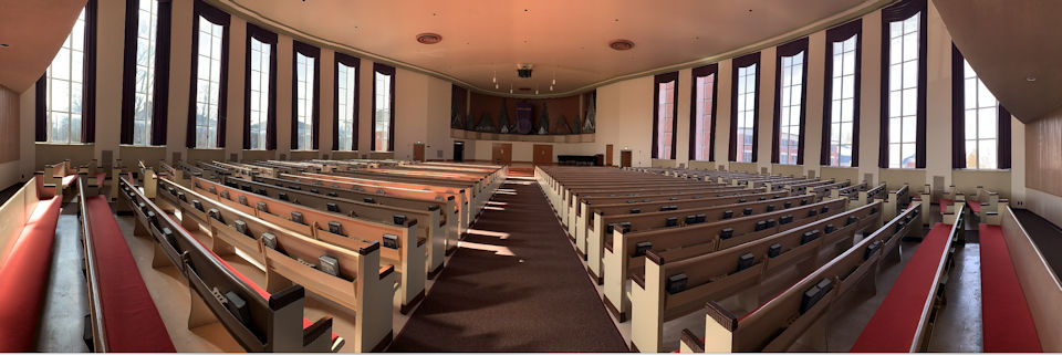 Albion Goodrich Chapel interior