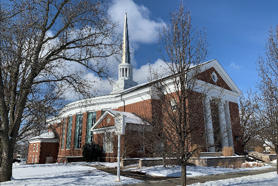 Albion College's Goodrich Chapel