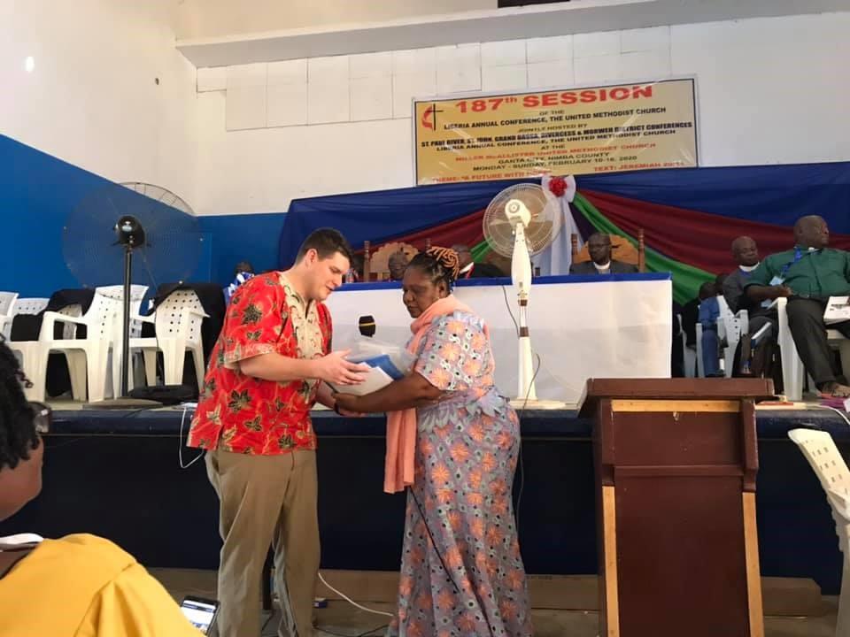 Liberia Conference Opens