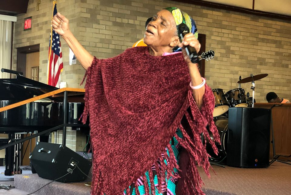Wyoming Wesley Park African worship