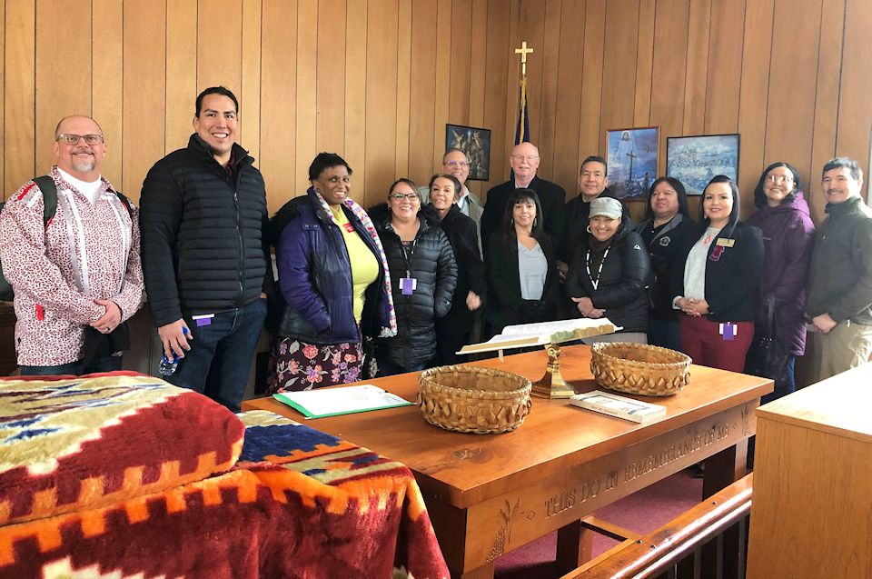 Group experiencing grace in Saganing