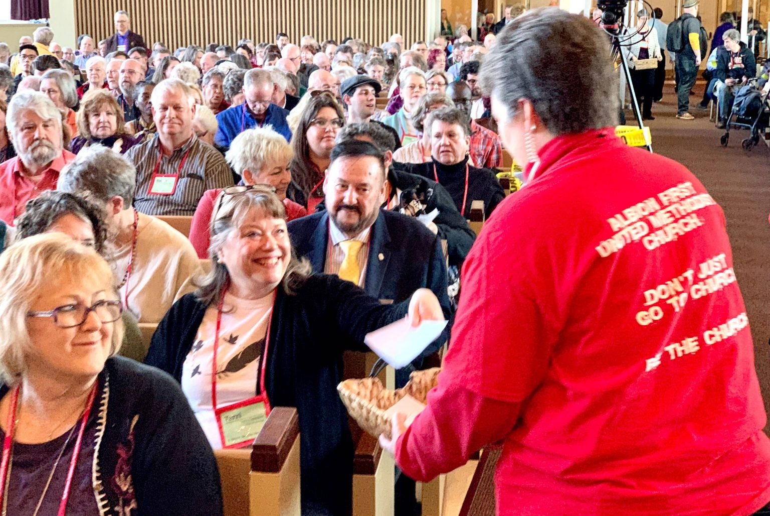 Michigan Methodists Advance Protocol to General Conference
