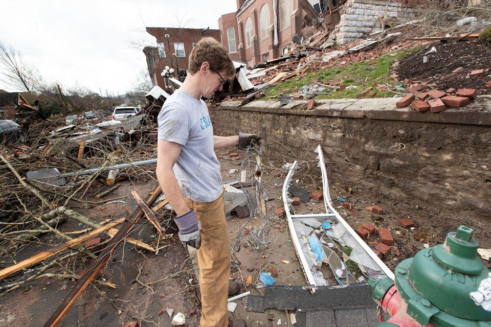 Nashville volunteers make headlines