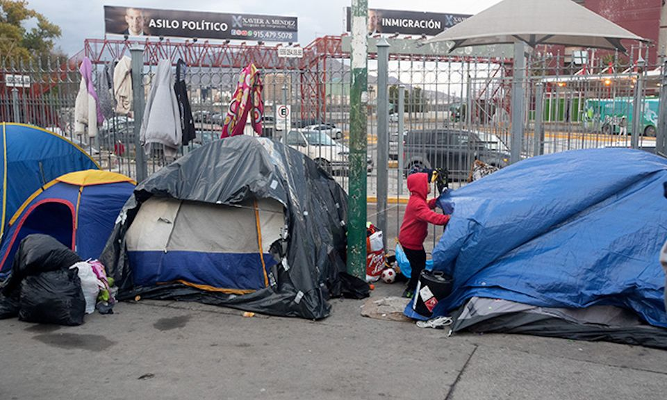 Migrants in Juarez