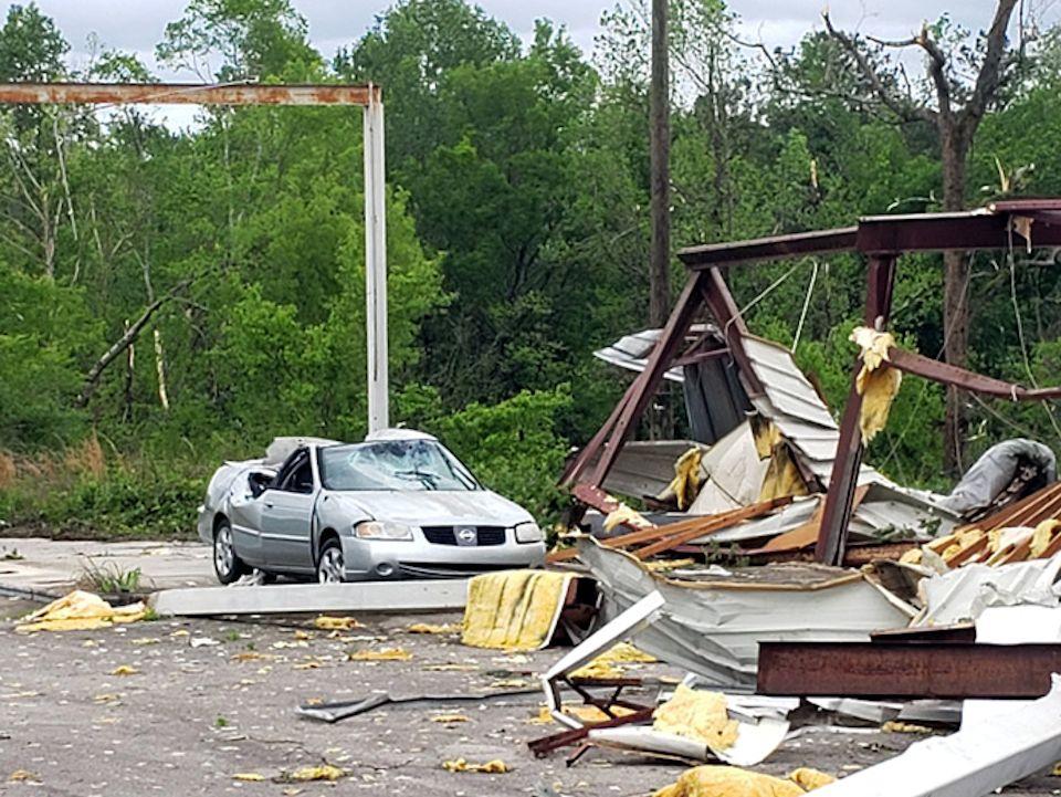 Spring storms hit Alabama