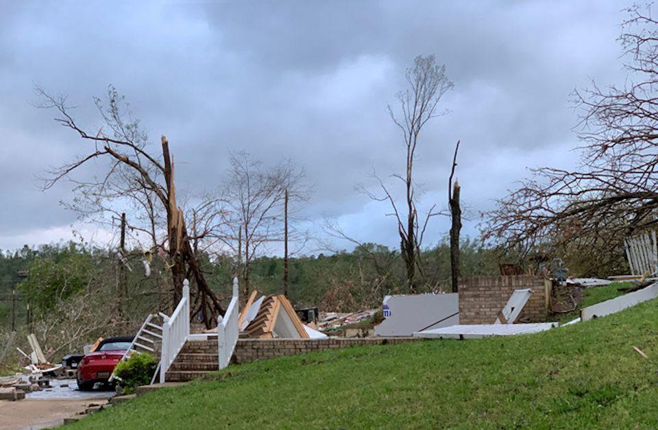 Spring storms strike Chattanoga